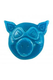 Pig - Head Wax Blue