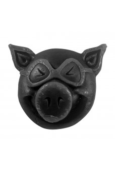 Pig - Head Wax Black