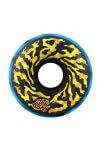 Santa Cruz - 65mm Slime Balls Swirly Black Blue Swirl 78A