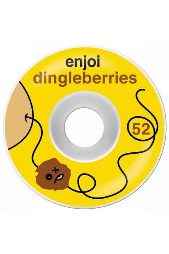 Enjoi - Dingleberries Yellow White 52mm
