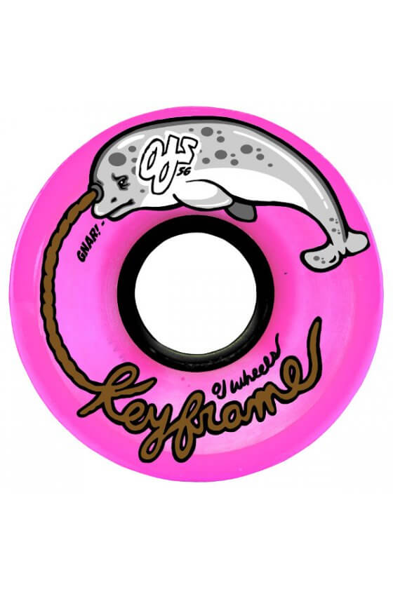 OJ - 56mm Pink Gnar Keyframe 87a OJ