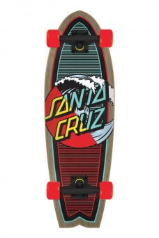 Santa Cruz - Classic Wave Splice 8.8in x 27.7in Cruzer Shark