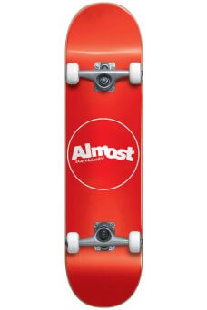Almost - Thin Line Fp Mini Red 7.0""