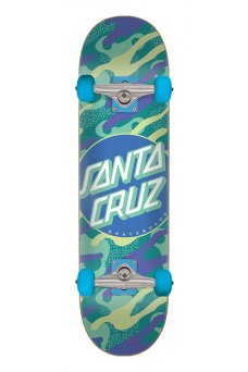 Santa Cruz - Primary Dot Sk8 Completes 6.75in x 28.5in