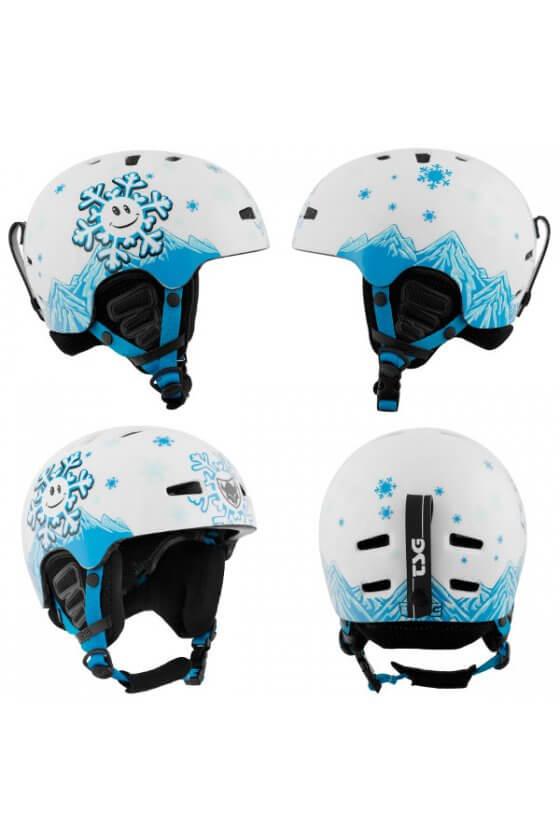 TSG - Caschi Arctic Nipper Mini Graphic Design Snowflake Taglia XXS/XS