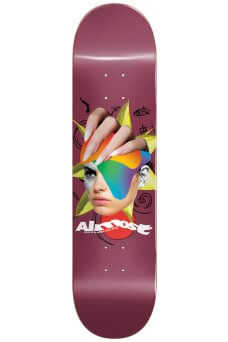 """Almost - Team Face Collage Logo R7 Red 8.25"""""""