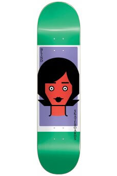 "Blind - Team Girl Doll RHM Green 8.5"""
