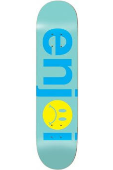 """Enjoi - Team Frowny Face No Brainer Mint 8.5"""""""