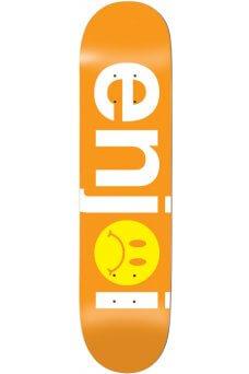 """Enjoi - Team Frowny Face No Brainer Orange 8.125"""""""