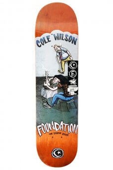 Foundation - Pro Wilson Student Orange 8.0""