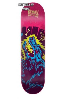 Santa Cruz - Pro Kendall Wolf Flashback 8.125in x 31.7in Santa Cruz