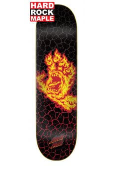 Santa Cruz - Team Flame Hand Hard Rock Maple 8.25in x 31.8in Santa Cruz