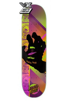 Santa Cruz - Team Afterglow Hand VX Deck 8.0in x 31.6in