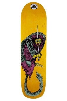"""Welcome - Team Tamarin Yellow 8.38"""" On Son Of Planchette"""