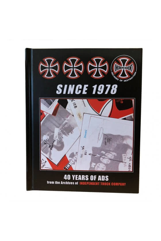 Independent - Since 1978 - 40 Years of Ads Book