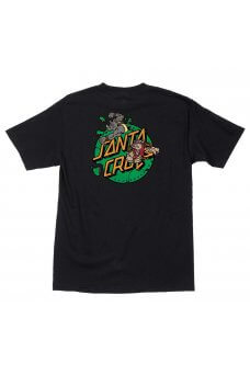 Santa Cruz - TMNT Bebop and Rocksteady S/S Regular T-Shirt Mens Black