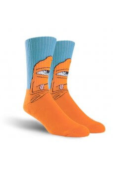 Toy M. - Tm Bored Sect Crew Sock Blue