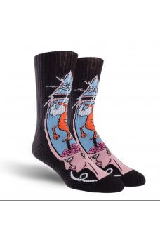 Toy M. - Tm Brain Stab Crew Socks Multi