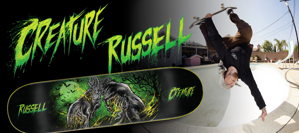 creature russell